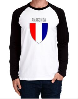 Anaconda Escudo Usa Long-sleeve Raglan T-Shirt
