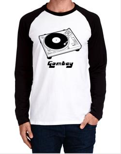 Retro Gombay - Music Long-sleeve Raglan T-Shirt