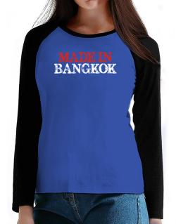 Made in Bangkok T-Shirt - Raglan Long Sleeve-Womens