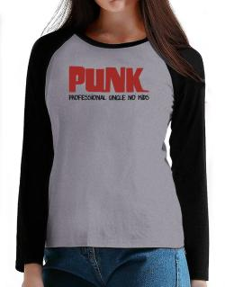PUNK T-Shirt - Raglan Long Sleeve-Womens