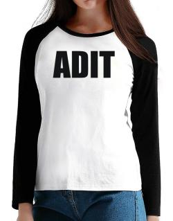Adit T-Shirt - Raglan Long Sleeve-Womens