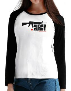 Alroy Street Veteran T-Shirt - Raglan Long Sleeve-Womens