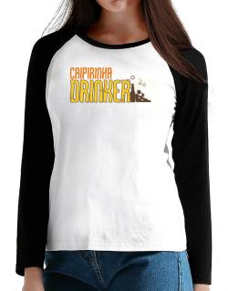 Caipirinha Drinker T-Shirt - Raglan Long Sleeve-Womens