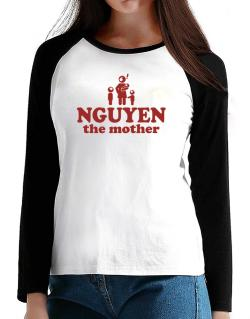 Nguyen The Mother T-Shirt - Raglan Long Sleeve-Womens