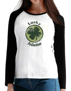 Lucky Pelletier T-Shirt - Raglan Long Sleeve-Womens