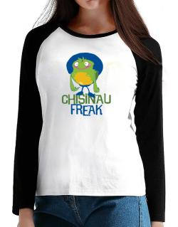 Chisinau Freak T-Shirt - Raglan Long Sleeve-Womens