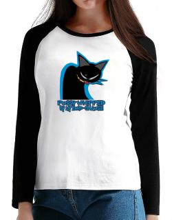 Pussy Whipped By My Euro Chausie T-Shirt - Raglan Long Sleeve-Womens