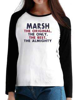 Marsh The Original T-Shirt - Raglan Long Sleeve-Womens