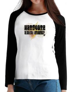 Hardcore Albanian Orthodoxy T-Shirt - Raglan Long Sleeve-Womens