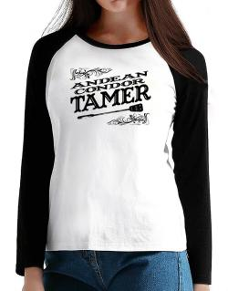 Andean Condor tamer T-Shirt - Raglan Long Sleeve-Womens