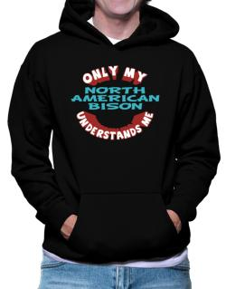 Only My North American Bison Understands Me Hoodie