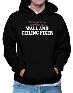 Everybody Loves A Wall And Ceiling Fixer Hoodie