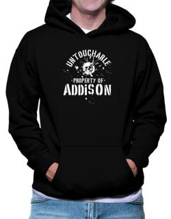 Untouchable : Property Of Addison Hoodie