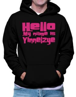 Hello My Name Is Yinnelzye Hoodie