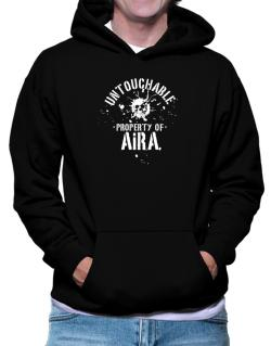 Untouchable Property Of Aira - Skull Hoodie
