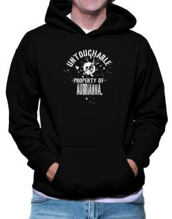 Untouchable Property Of Aubrianna - Skull Hoodie