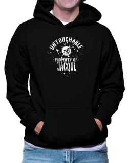 Untouchable Property Of Jacqui - Skull Hoodie