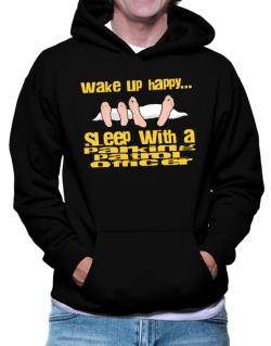 wake up happy .. sleep with a Parking Patrol Officer Hoodie
