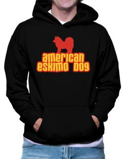Breed Color American Eskimo Dog Hoodie
