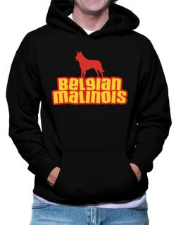 Polera Con Capucha de Breed Color Belgian Malinois
