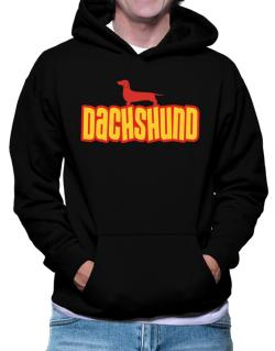 Breed Color Dachshund Hoodie