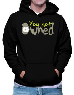 You Got Owned Archery Hoodie