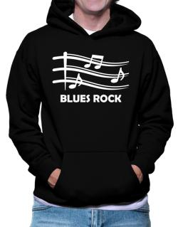 Blues Rock - Musical Notes Hoodie