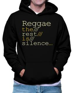 Polera Con Capucha de Reggae The Rest Is Silence...