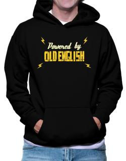 Powered By Old English Hoodie