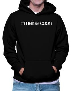 Hashtag Maine Coon Hoodie