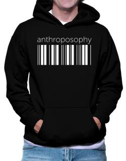 Anthroposophy barcode Hoodie