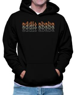 Addis Ababa repeat retro Hoodie