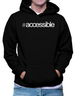 Hashtag accessible Hoodie