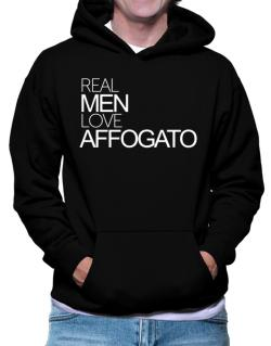 Real men love Affogato Hoodie