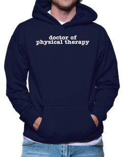Polera Con Capucha de Doctor Of Physical Therapy
