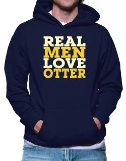 Polera Con Capucha de Real Men Love Otter