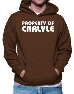 """ Property of Carlyle "" Hoodie"