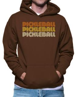 Pickleball Retro Color Hoodie