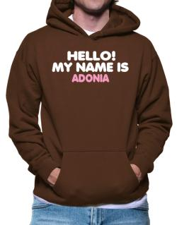 Hello! My Name Is Adonia Hoodie