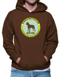 Boston Terrier - Wiggle Butts Club Hoodie