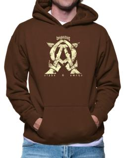 Weightlifting Alpha And Omega Hoodie