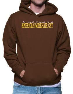 My Best Friend Is An American Wirehair Hoodie