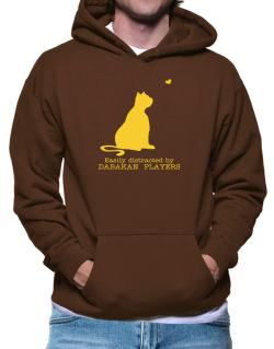 Easily Distracted By Dabakan  players Hoodie