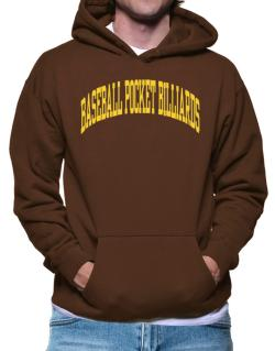 Baseball Pocket Billiards Athletic Dept Hoodie