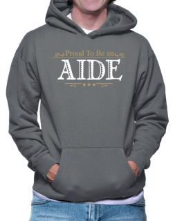 Proud To Be An Aide Hoodie