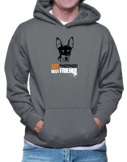 """ Fox Terrier MY BEST FRIEND - URBAN STYLE "" Hoodie"