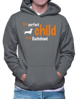 The Perfect Child Is A Dachshund Hoodie