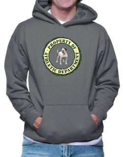 """ PROPERTY OF American Bulldog ATHLETIC DEPARTMENT TRANSFER "" Hoodie"