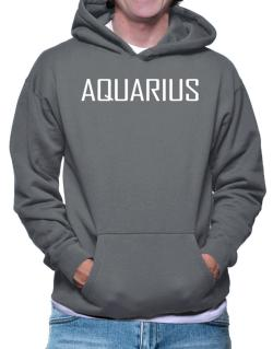 Aquarius Basic / Simple Hoodie