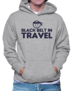 Black Belt In Travel Hoodie